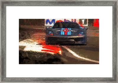 Unleashed Framed Print by Alan Greene