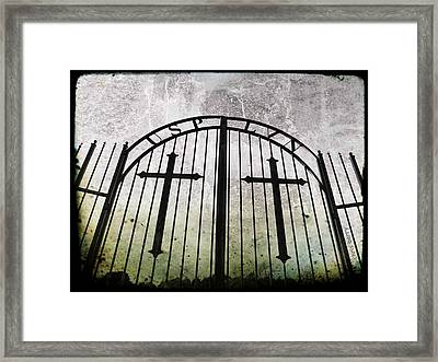 Unblessed Ground Framed Print by Chris Berry