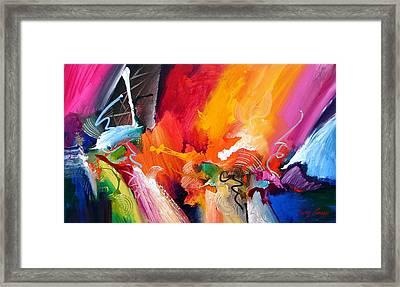 Unbounded Ecstasy Framed Print