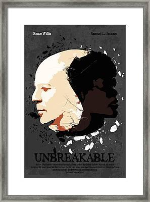 Unbreakable Alternative Poster Framed Print by Edgar Ascensao