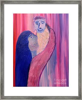Unbreakable Bond Framed Print by Vadim Levin