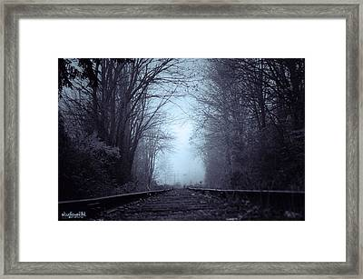 Uncertain Framed Print by Sarai Rachel
