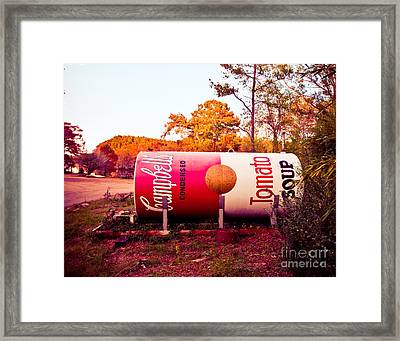 Uncertain Warhol Framed Print by Sonja Quintero