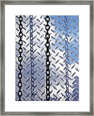 Unchain That Cloud Framed Print by Sarah Loft