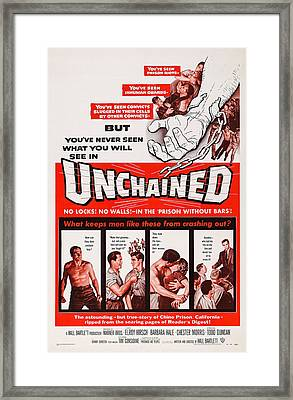 Unchained, Us Poster Art, 1955 Framed Print