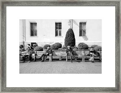 Unchallanged Framed Print by Valentino Visentini