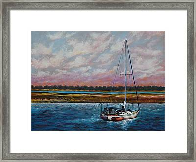 Uncharted Territory Framed Print by Eve  Wheeler