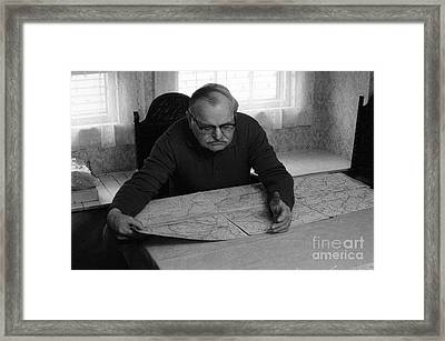 Uncle Charles Framed Print by Steven Macanka