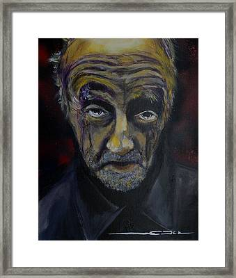 Framed Print featuring the painting Uncle Only's Farewell by Eric Dee