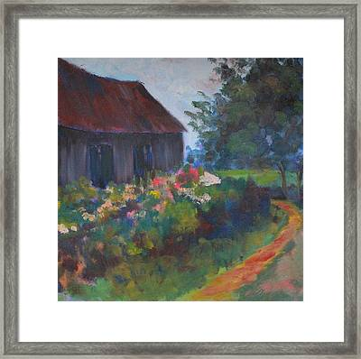 Uncle Walter's Farm Framed Print