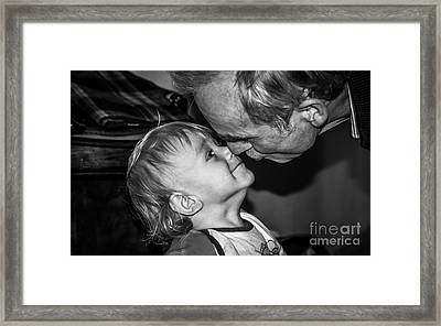 Unconditional Affection - By Sabine Edrissi  Framed Print
