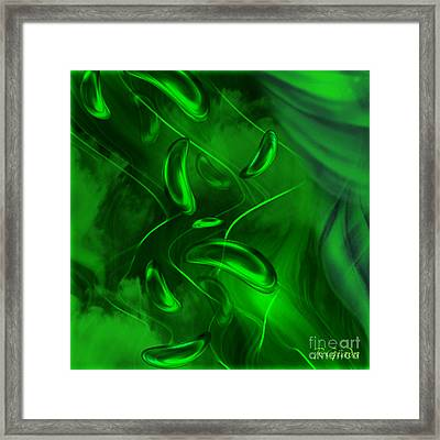 Framed Print featuring the digital art Unconditional Love - Abstract Art By Giada Rossi by Giada Rossi