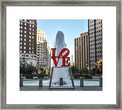 Unconditional Love Framed Print by Bill Cannon