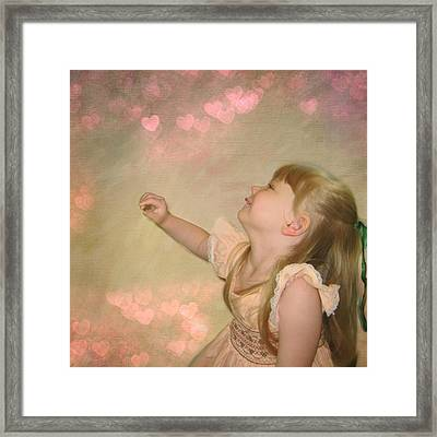 Unconditional Love Framed Print by Shirley Sirois