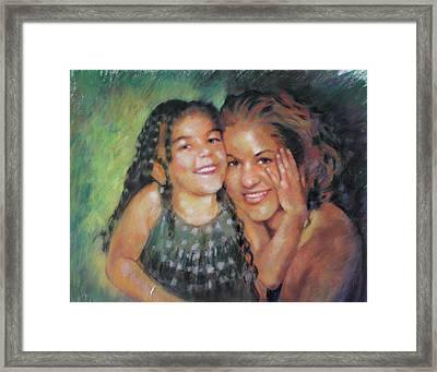 Unconditional Love Framed Print by Viola El