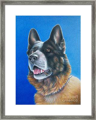 Unconditional Framed Print by Pamela Clements