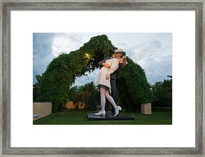 Unconditional Surrender Framed Print
