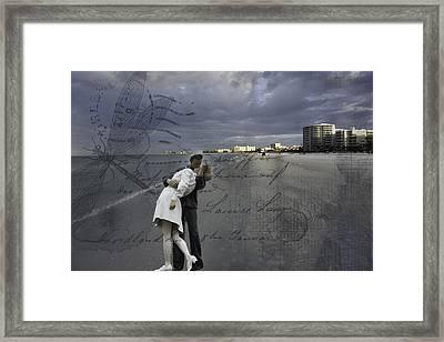 Unconditional Surrender Framed Print by Mary Koenig Godfrey