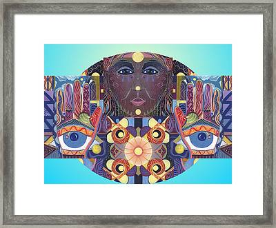 Unconditionally Framed Print by Helena Tiainen