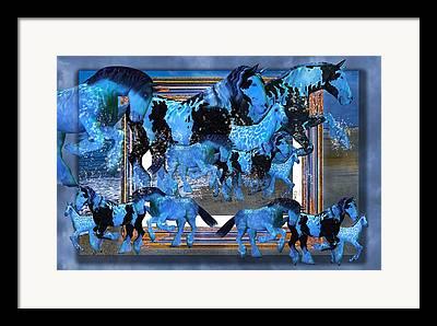 Out-of-frame Framed Prints