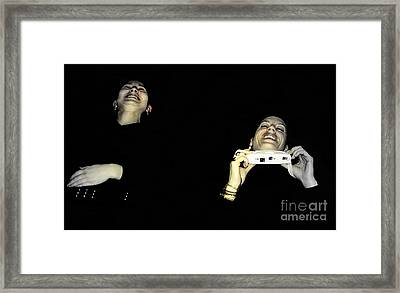 Uncontrolled Joy Framed Print