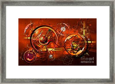 Uncontrolled Reality Framed Print