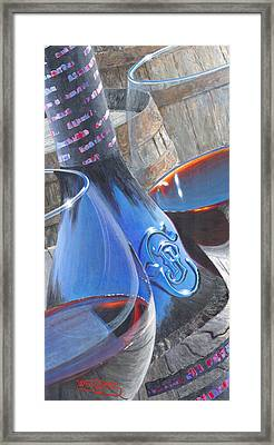 Uncorked II Framed Print by Will Enns