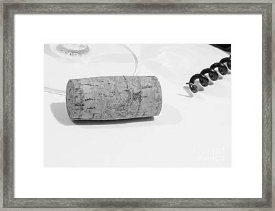 Uncorked Framed Print