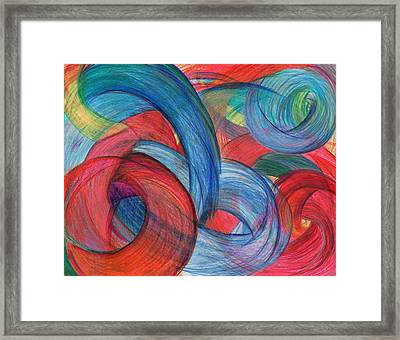 Uncovered Curves Framed Print