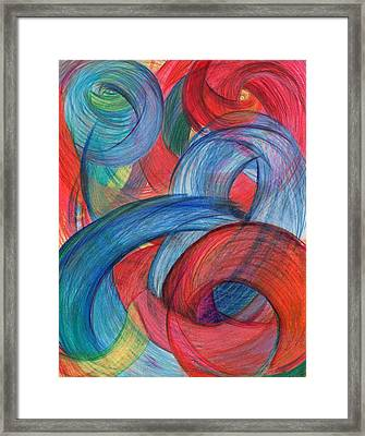 Uncovered Curves-vertical Framed Print