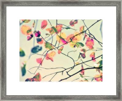 und Wusch Framed Print by Die Farbenfluesterin