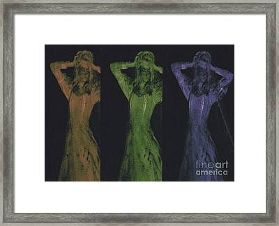 Undead X 3 Framed Print