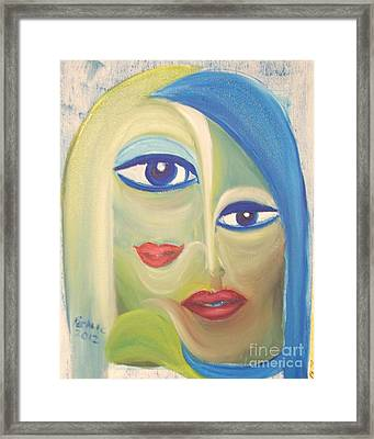 Undecided Framed Print by Rachel Carmichael