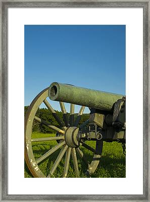 Under A Blue Sky Framed Print by Michael Williams