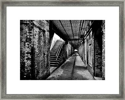 Under Alcatraz Framed Print by Benjamin Yeager