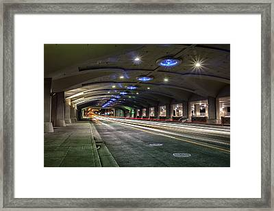 Under And Through Framed Print
