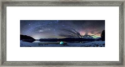 Under Big Skies Framed Print