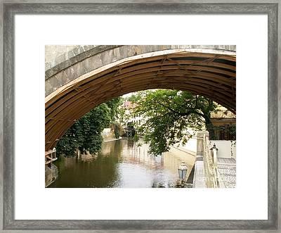 Under Bridge Framed Print by Evgeny Pisarev