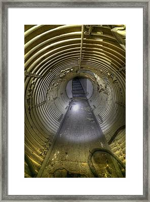 Under Bunker Framed Print by Nathan Wright