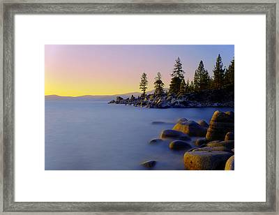 Under Clear Skies Framed Print