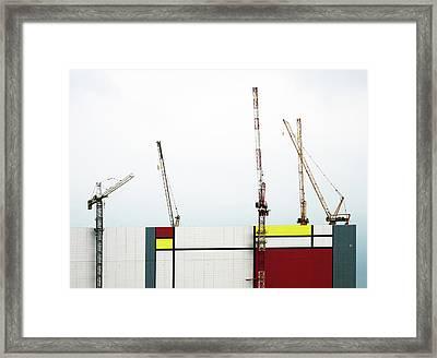 Under Construction Framed Print