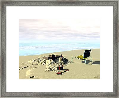 Under Construction Framed Print by John Pangia