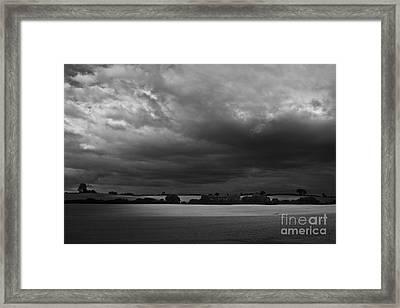 Under Dark Sky Framed Print by Heiko Koehrer-Wagner