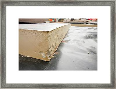 Under Floor Insulation Framed Print by Ashley Cooper