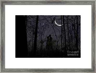 Under Moon Framed Print