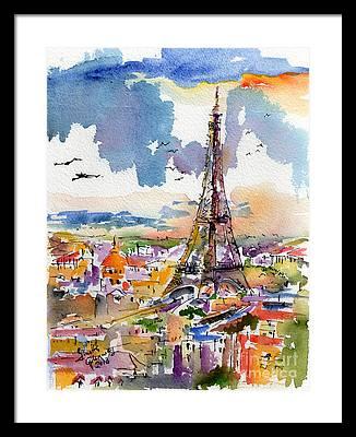 Ginette Framed Prints