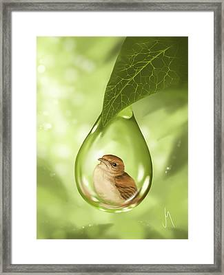 Under Protection Framed Print by Veronica Minozzi
