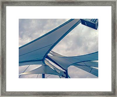 Under Sails Framed Print