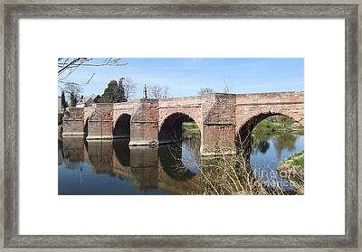 Under The Arches Framed Print by Tracey Williams