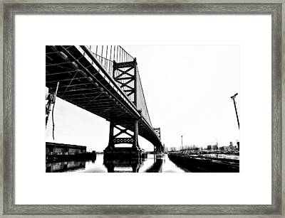 Under The Ben Framed Print